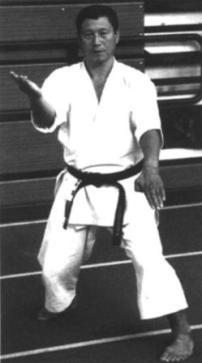 Sensei Hiroshi Shirai 8th Dan, Hangetsu dachi