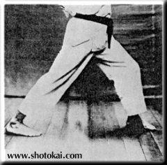 Старая техника, от которой отказались О-сэнсэй и Фунакоси Ёситака